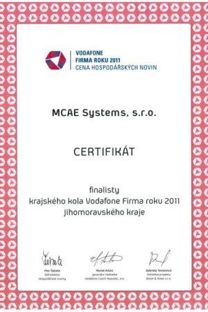 certifikat mcae 2017