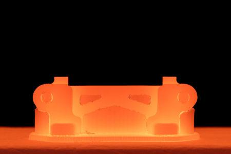 Sintrovací pec 3D tlač