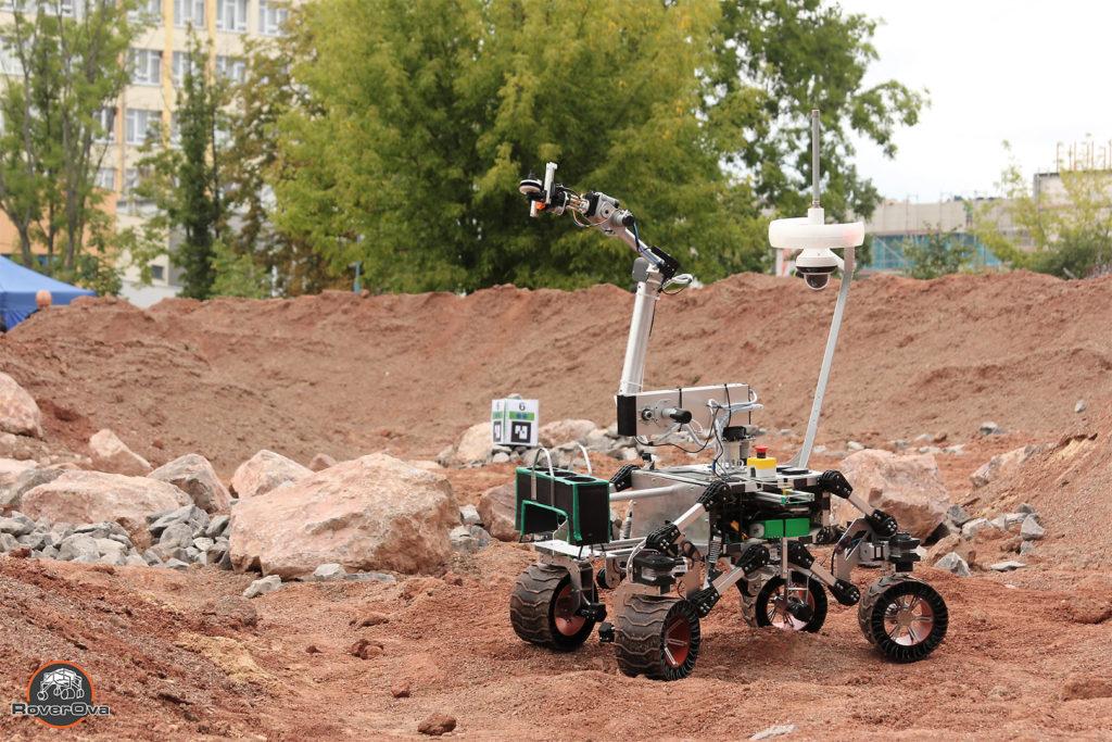 mars rover 3d tisk roverova soutěž