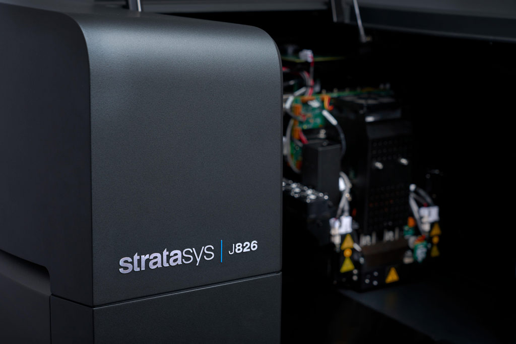 dizajn prototypov na 3D tlačiarni J826 detail