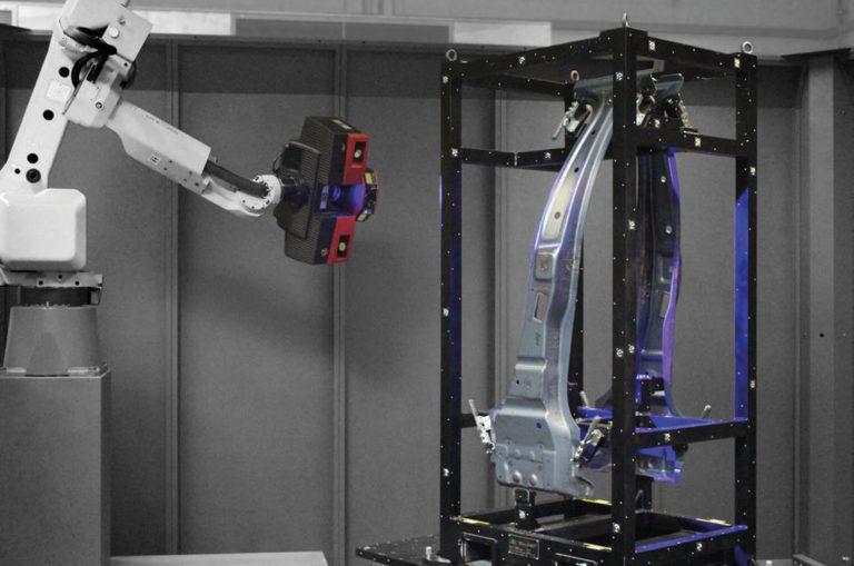3d skenovanie v praxi automatizácie
