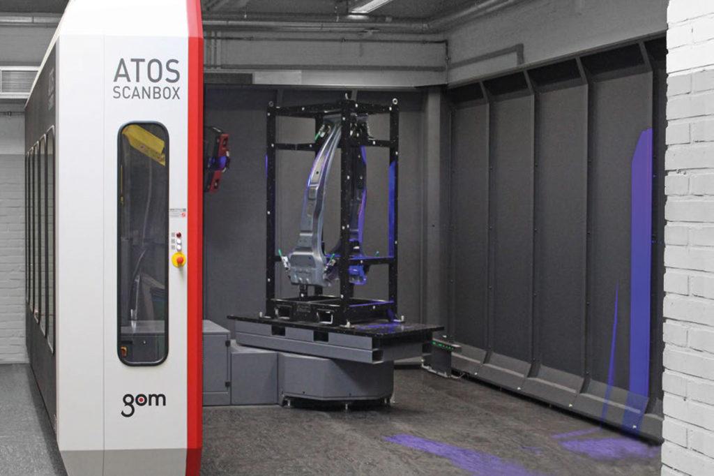 3d merania v praxi automatizácie