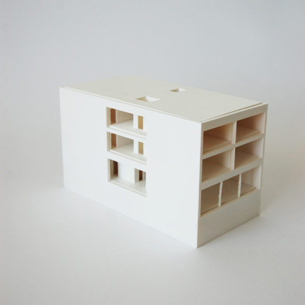 funkční architektonický model
