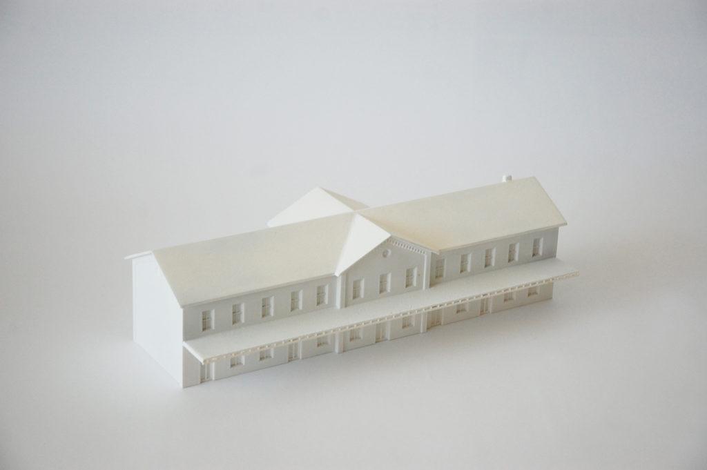 3d tlač architektonicky model