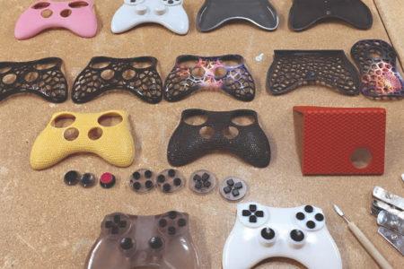3d tisk gamepad