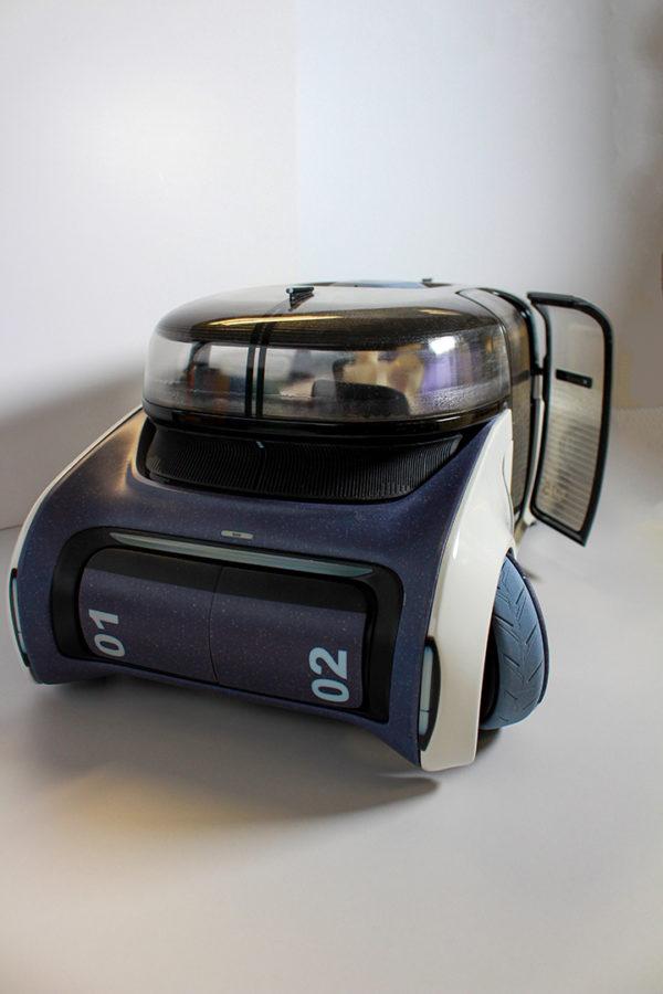 3d tlač prototypu funkčného auta