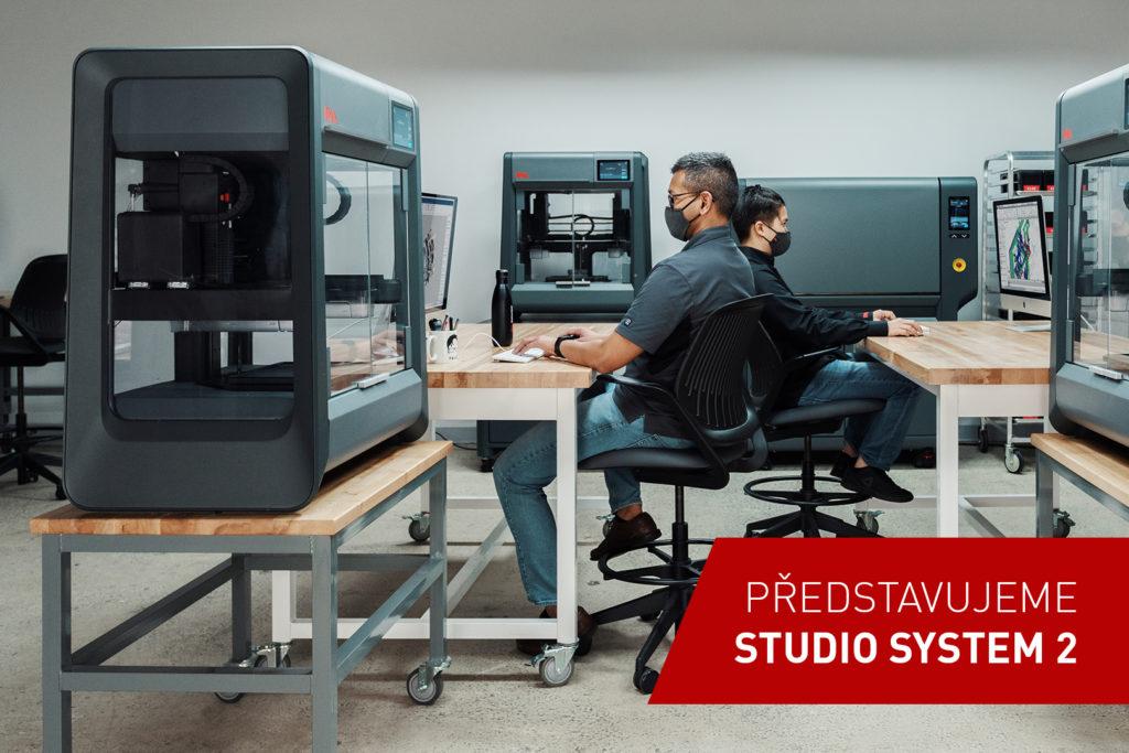 3d tlačiareň studio system 2 desktop metal