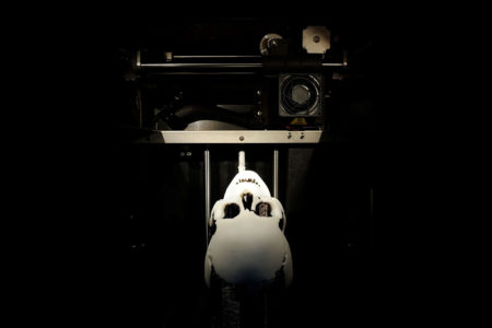 3D tisk lebky upíra ČVUT