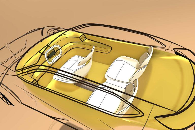 Auto z 3D tiskárny