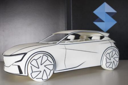 3D tlač auta