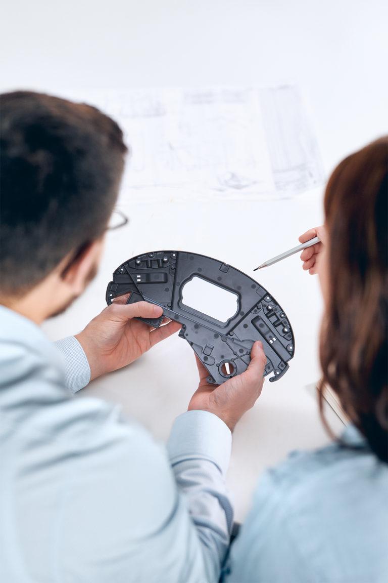 GOM Inspect CAD soubor inspekce