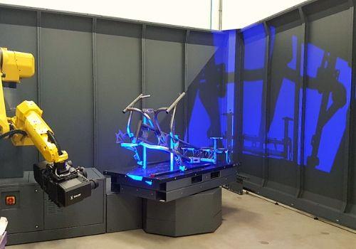 skenovanie rámu bicykla
