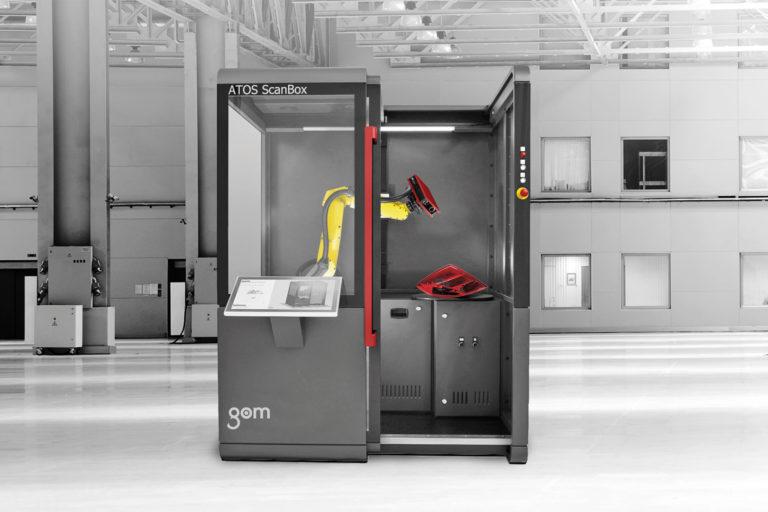 GOM Sluzby 3D Mereni plastovych dilu