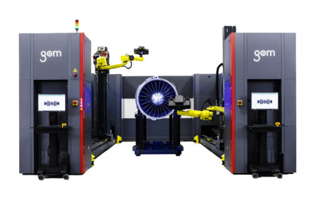 Automatizované meranie GOM ATOS ScanBox 8