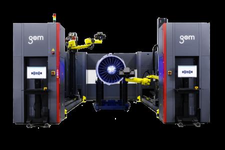 GOM ATOS ScanBox Automatizácia merania