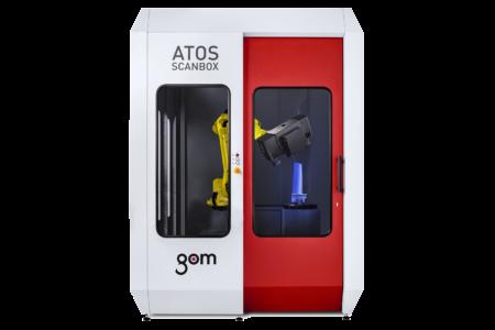 GOM ATOS ScanCobot Automatizácia merania