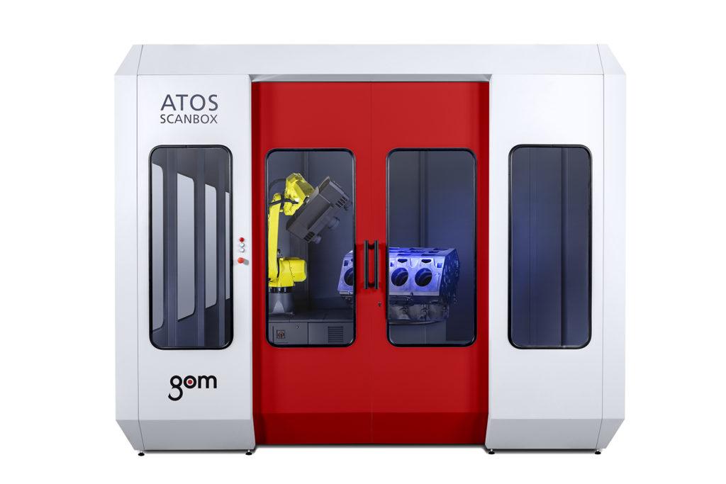 Automatizované měření GOM ATOS ScanBox 5