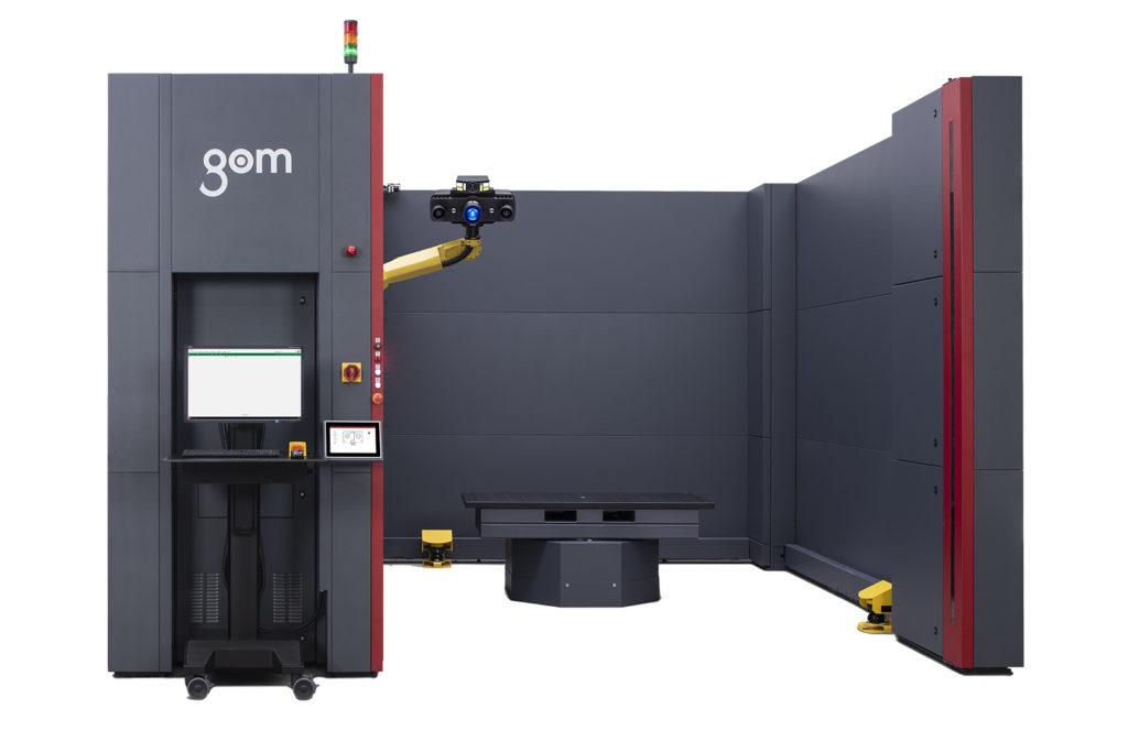 Automatizované meranie GOM ATOS ScanBox 6